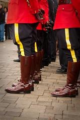 Remembrance Day 2009-32 (R J Ruppenthal) Tags: boots pentax poppies rcmp uniforms worldwar veterans ladysmith metals ruppenthal rememberanceday k7 redserge vancouverislandphotographer
