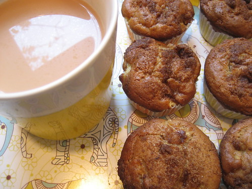 apple sour cream muffins