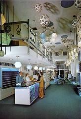 Inn of Tomorrow Lobby circa 1970 (hmdavid) Tags: california disneyland motel lobby 1970s anaheim googie innoftomorrow synthetrix