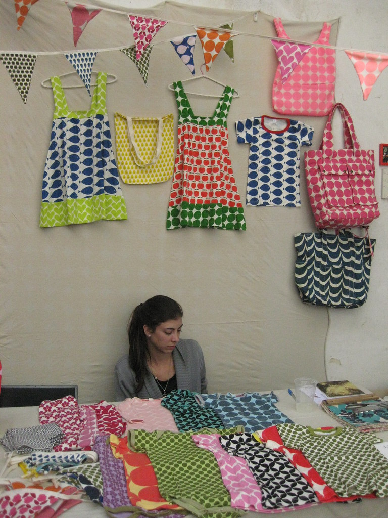 KOM at craft fair in Villa Urquiza