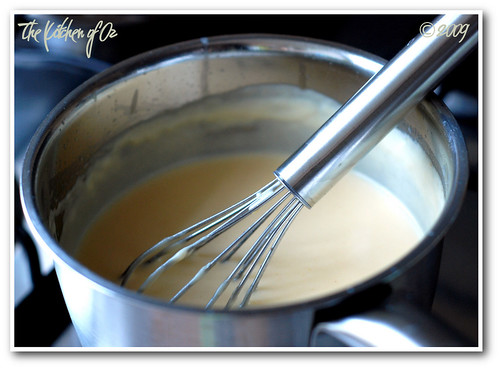 Making Gouda Sauce