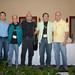 Jorge Marzuca, Enrique Neri,  Fernando Toussaint, Juan Alzate y Javier Aranda