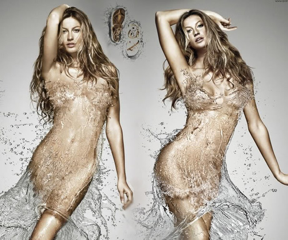 gisele water fashion