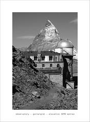 oBSeRVaToRy (Toni_V) Tags: bw mountains alps monochrome landscape schweiz switzerland blackwhite suisse hiking gornergrat zermatt matterhorn alpen svizzera wallis valais cervin randonnée d300 cervino toniv dsc0493 imagesforthelittleprince
