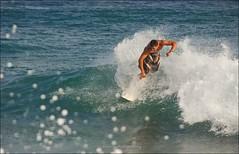 Shorebreak Surfing (eschborn.photography) Tags: hawaii surfer wave surfing kauai watersplash gardenisland shorebreak shipwreckbeach eschborn gardenisle hawaiiansummer eschbornphotography