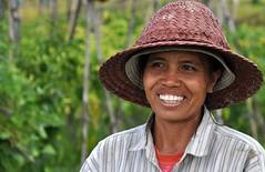 Contadina in risaia (Jambo Jambo) Tags: bali indonesia nikon ricefields risaie jatiluwih d5000 unseenasia earthasia jambojambo