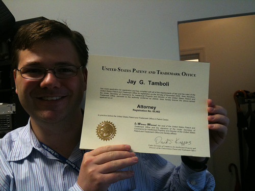 Patent Attorney License by Jay Tamboli, on Flickr