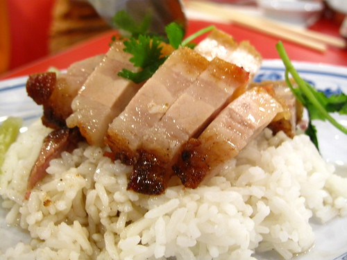 IMG_5010 Roast Pork Rice,烧肉饭