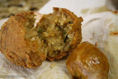 Boudin ball innards