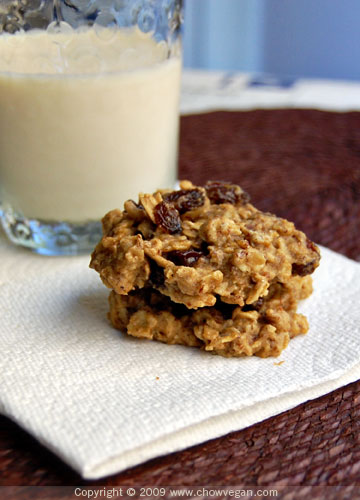 Oatmeal Raisin Cookie From Vegan Cookies Invade Your Cookie Jar
