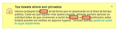 Twitter en Español - ¿ Trinos ?