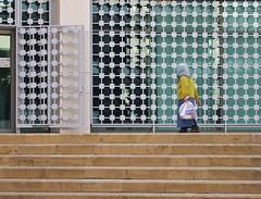 trying to enter the bank (Winfried Veil) Tags: city lebanon stairs stair veil geometry capital hauptstadt middleeast bank treppe step stadt pitch beirut winfried kopftuch beyrouth liban stufen stufe geometrie libanon naherosten bayrut mtterchen mobilew winfriedveil dwwg