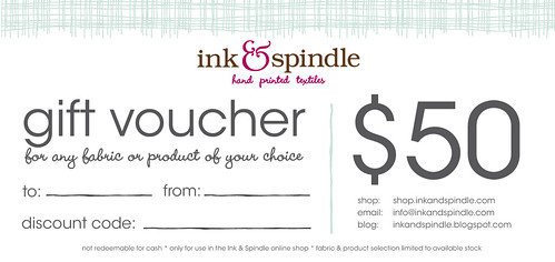 Ink & Spindle does gift vouchers...