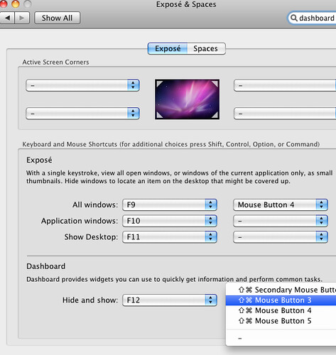 middle mouse button mac os x