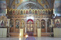 The Iconostasis of the Russian Orthodox Church of the Epiphany