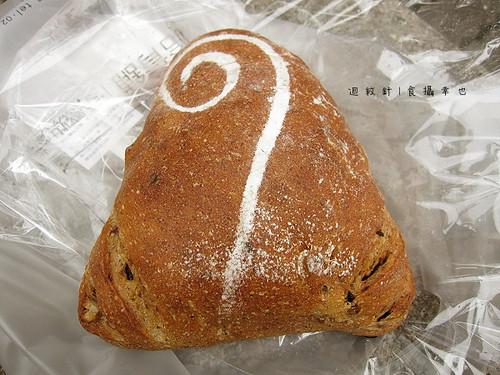 哈肯舖米釀荔枝麵包