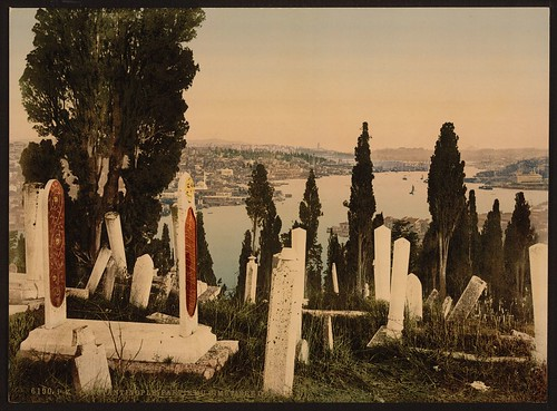 [A part of the Eyoub (i.e., Uyüp) cemetery, I, Constantinople, Turkey] (LOC)