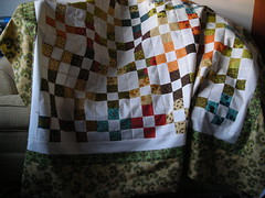 9-patch quilt for Merissa's grandmother