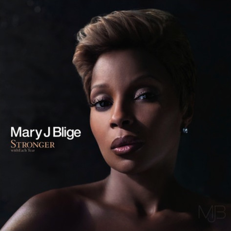 mary j blige stronger with each tear album cover. Mary J. Blige Stronger