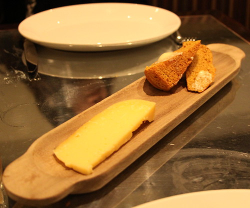 Ad Hoc - Cheese course with quickbread
