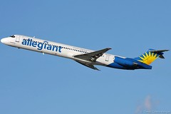 Allegiant Air - McDonnell Douglas MD-83 N877GA (SJO Spotter - Tomas Cubero Maingot) Tags: los airport angeles air tomas douglas intl mcdonnell maingot md83 klax cubero allegiant mroc n877ga