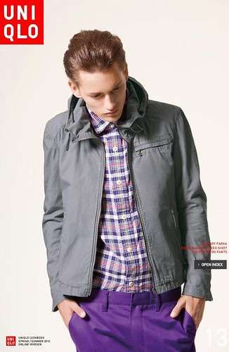 UNIQLO 0240_LOOK BOOK 2010 SPRING_Jakob Hybholt