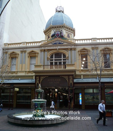 Adelaide Arcade Entrance