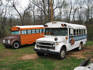 Bus 159 and Parts Bus