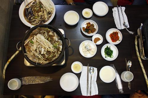 bulgogi dinner
