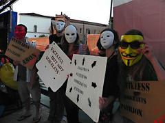 ASI@Danish-pavilion-Osloo2 (Anon Stateless Immigrants) Tags: art performance activism anonymous subversion freedomofspeach capitalsim danishpavilion osloo floatingpavilion statelessimmigrantspavilion 54venicebiannale