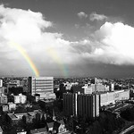 Rainbow shining on the Central District 2/9/2017 thumbnail