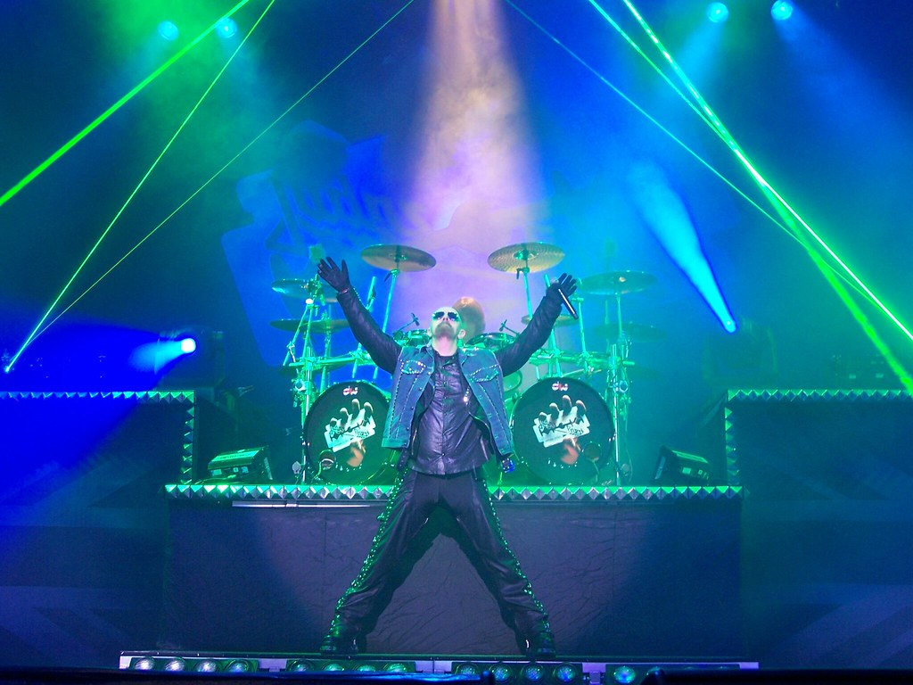 Rob Halford, June 29th, Indiana, British Steel Tour 2009