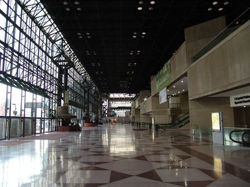 Javits Hall Before