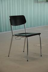 the chair is black (Toni_V) Tags: school architecture schweiz switzerland chair suisse zurich zürich minimalism schoolhouse 2009 schule d300 schulhaus sooc toniv kerez profilit christiankerez leutschenbach dsc9209
