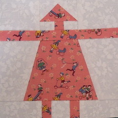 """""""Boomerette"""" in 30's Fabrics"""