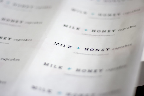 milk + honey cupcakes