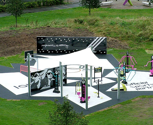 The Adizone Outdoor Gym