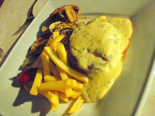 Fillet steak in bernaise sauce - Restaurant Vela Nera, Pula