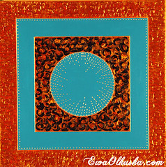 Thailand's aroma III (Ewa Olkuska) Tags: artist art abstract acrylic colorful circkle orange yelow green blue red gold contemporary excellent fabulous future glamorous geometry investment love modernart nude poetry painting oilpainting surreal symbolism tantra energyfield energy best bestselling vital novelty new denmark copenhagen africa poland thailand easterneuropeart sensual scandinavia message winner silk dream