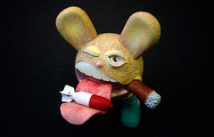 Bomb Disposal Bunny (jimmy foo) Tags: marine bigmouth smoking resin pills custom bombs olee resintoy jimmyfoo bombdisposalbunny mytummytoyscom customresintoy