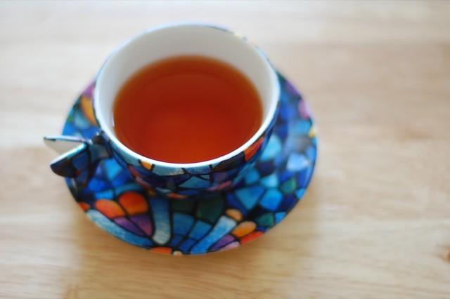 calm tea cup