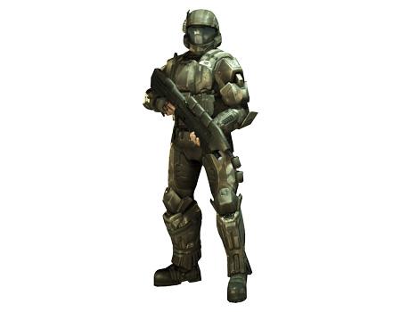 Halo 3 ODST (Buck)