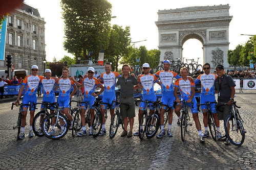 All nine Argyle Armada finish in Paris — Farrar third in sprint!