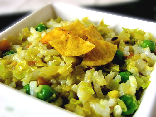 Cabbage Rice | Cabbage Rice Recipe