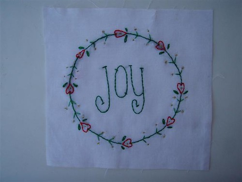 Christmas Wish Block 3 - Joy