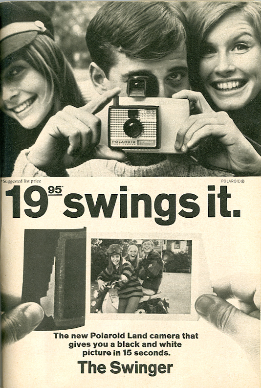 The Polaroid Swinger ad_12.3.1966_tatteredandlost
