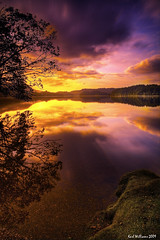 New Day (Shuggie!!) Tags: longexposure sun reflection water sunrise landscape scotland williams karl loch trossachs hdr ard aberfoyle explored colorphotoaward alemdagqualityonlyclub karlwilliams magicunicornverybest magicunicornmasterpiece obramaestra