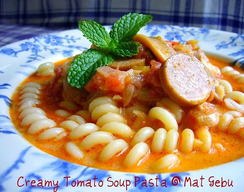 Creamy Tomato Soup Pasta