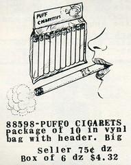 Puff Cigarettes Ad