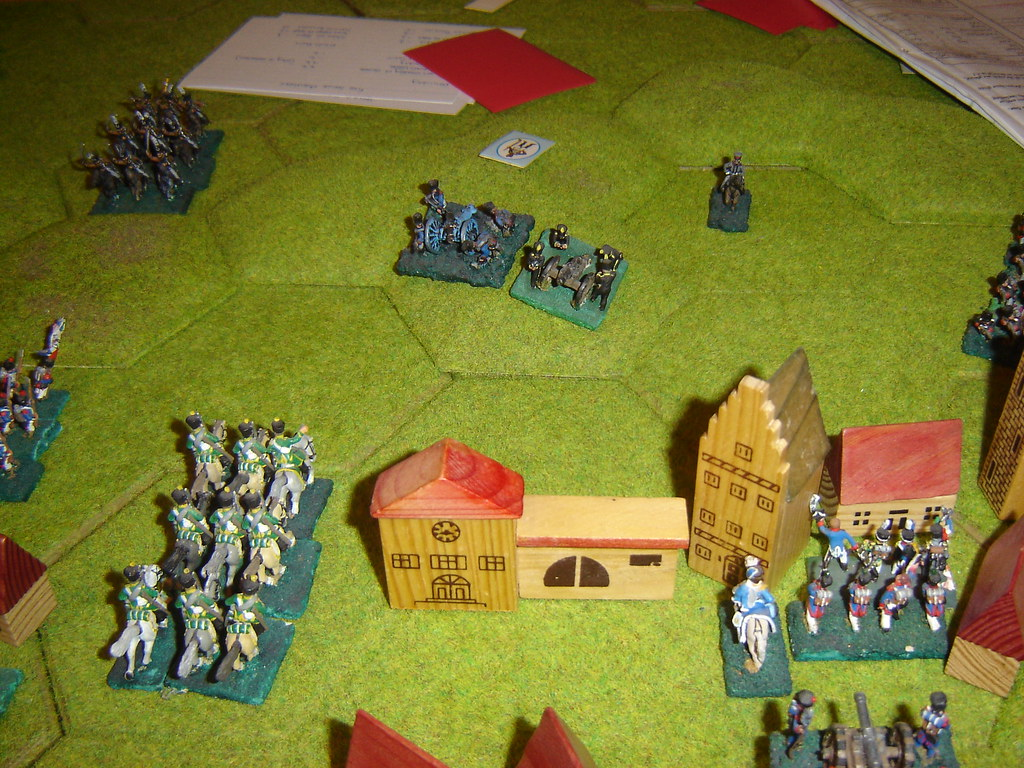 Prussians make last defence of Wavre